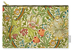 Golden Lily Carry-all Pouch by William Morris