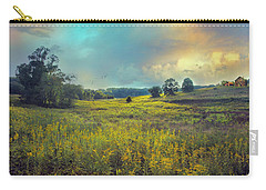 Golden Meadows Carry-all Pouch by John Rivera