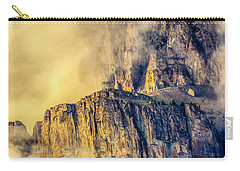 Golden Mist On Cathedral Mountain Carry-all Pouch