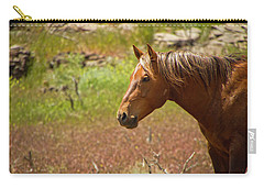 Golden Mustang Stallion Carry-all Pouch