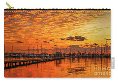 Golden Orange Sunrise Carry-all Pouch