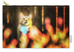 Golden Orange Tabby Carry-all Pouch