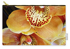 Golden Orchid Carry-all Pouch