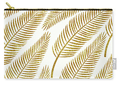 Golden Palm Carry-all Pouch