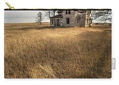 Golden Prairie  Carry-all Pouch by Aaron J Groen