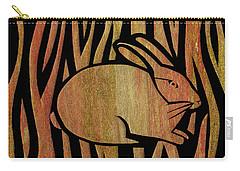 Golden Rabbit Carry-all Pouch