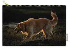 Carry-all Pouch featuring the photograph Golden by Randy Hall