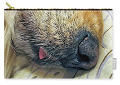 Golden Retriever Dog Little Tongue Carry-all Pouch by Jennie Marie Schell