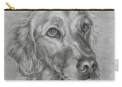 Golden Retriever Drawing Carry-all Pouch