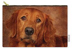 Golden Retriever Carry-all Pouch by Greg Mimbs