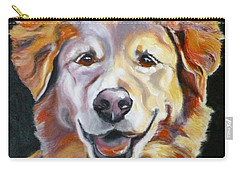 Golden Retriever Most Huggable Carry-all Pouch