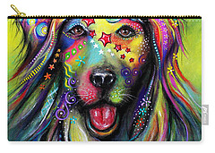 Golden Retriever Carry-all Pouch by Patricia Lintner