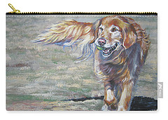 Golden Retriever Play Time Carry-all Pouch