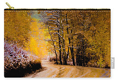 Golden Road Carry-all Pouch by Kristal Kraft