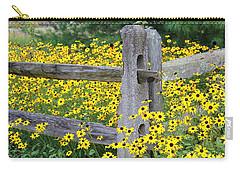 Golden-rod  Crowd Out Carry-all Pouch