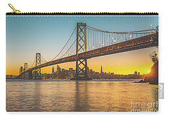 Golden San Francisco Carry-all Pouch by JR Photography