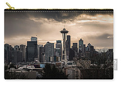Golden Seattle Carry-all Pouch by Chris McKenna