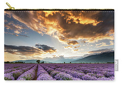 Golden Sky, Violet Earth Carry-all Pouch