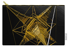 Golden Space Craft Carry-all Pouch