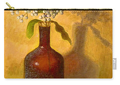 Carry-all Pouch featuring the painting Golden Still Life by Joe Bergholm