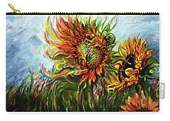 Golden Sunflowers - Harsh Malik Carry-all Pouch