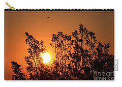 Golden Sunrise Carry-all Pouch by Angela J Wright