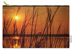Golden Sunset At The Lake Carry-all Pouch