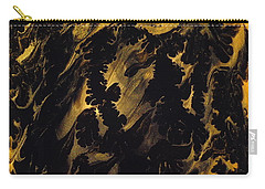 Golden Swirls Carry-all Pouch