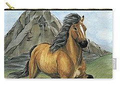Golden Tolt Icelandic Horse Carry-all Pouch