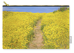Carry-all Pouch featuring the photograph Golden Trail by Marc Crumpler