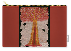 Golden Trees Crying Tears Of Blood Carry-all Pouch by Talisa Hartley