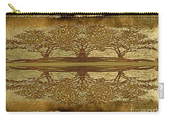Golden Trees Reflection Carry-all Pouch