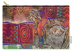 Golden Truth Carry-all Pouch by Angela L Walker