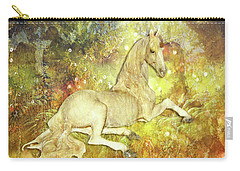 Golden Unicorn Dreams Carry-all Pouch