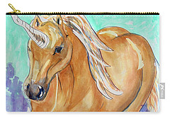 Golden Unicorn Carry-all Pouch