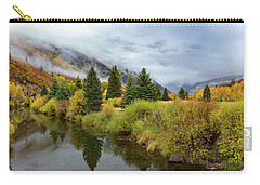 Carry-all Pouch featuring the photograph Golden Valley by Tim Stanley