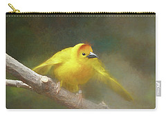 Golden Weaver - Digital Painting Carry-all Pouch