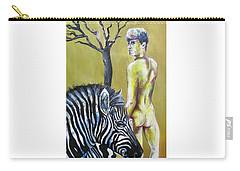 Golden Zebra High Noon Carry-all Pouch