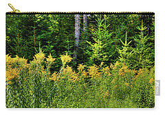 Carry-all Pouch featuring the photograph Goldenrod In The Adirondacks by David Patterson