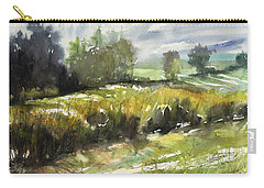 Goldenrod On The Lane Carry-all Pouch by Judith Levins