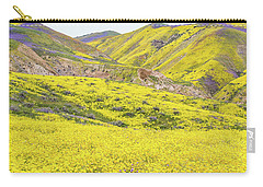 Goldfields And Temblor Hills Carry-all Pouch