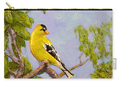 Goldfinch Carry-all Pouch by Joe Bergholm