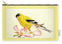 Goldfinch Spring Carry-all Pouch