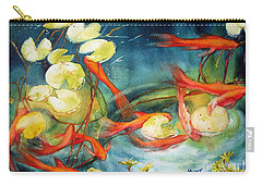 Goldfish Pond Carry-all Pouch