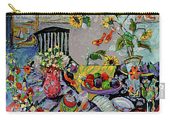 Goldfish Rumble Carry-all Pouch by Sharon Furner
