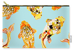 Goldfish Carry-all Pouch by Uma Gokhale