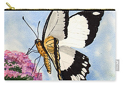 Carry-all Pouch featuring the painting Goldie by Sam Sidders