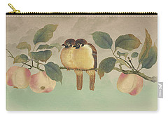 Golden Birds In Fruit Tree Carry-all Pouch