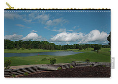 Golf Course The Back 9 Carry-all Pouch by Chris Flees