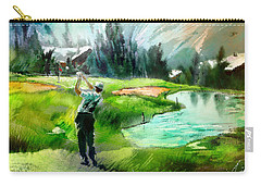 Golf In Crans Sur Sierre Switzerland 01 Carry-all Pouch